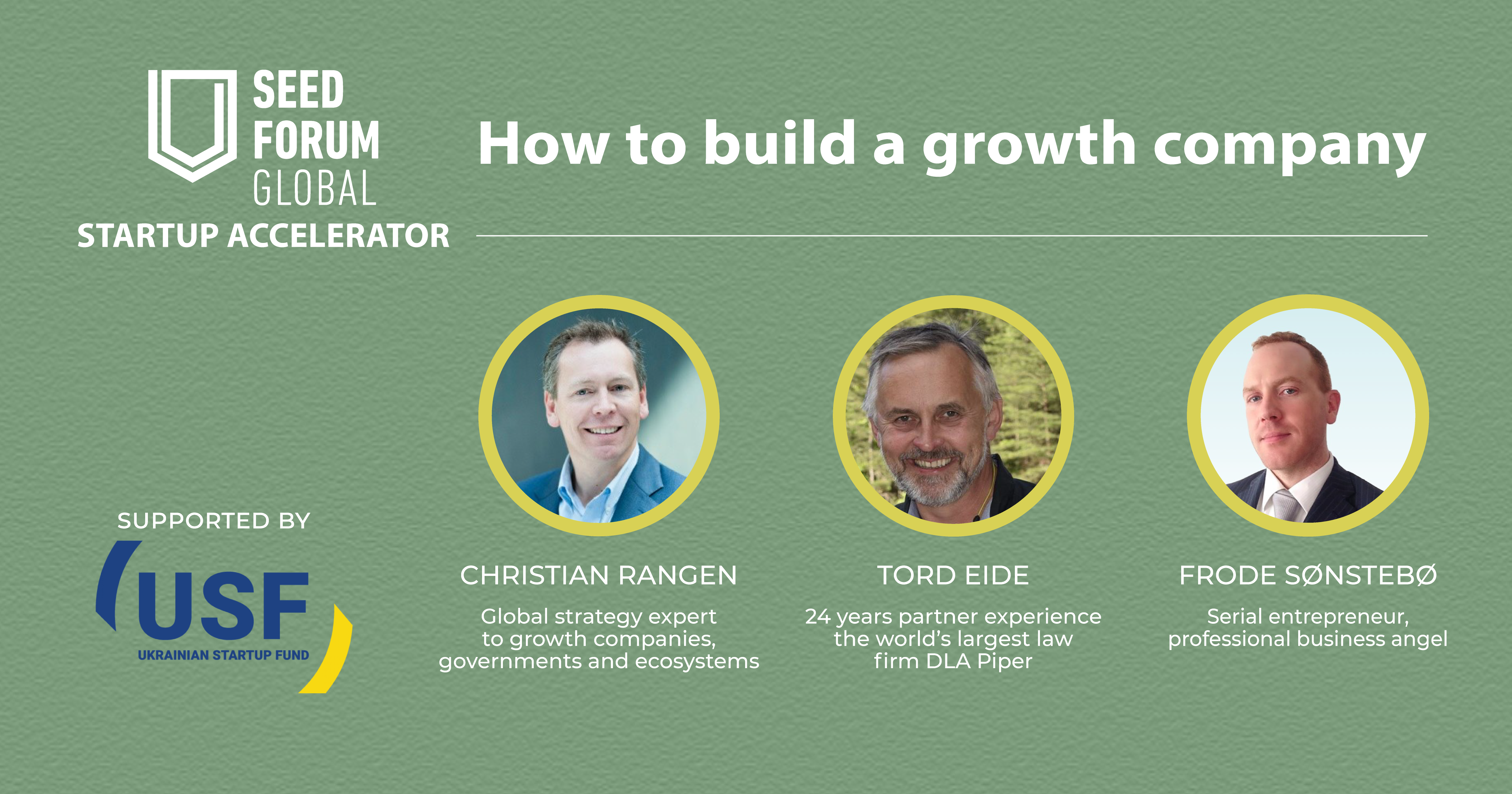 How to build a growth company?